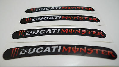 DUCATI Corse 6X motorcycle symbol emblem allegory badge stickers decals 35X32 mm