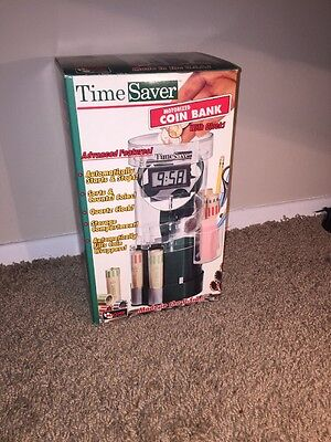 Time Saver Motorized Coin Bank