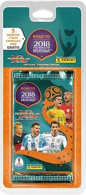 BLISTER ROAD TO WORLD CUP 2018 Panini Adrenalyn XL Limited edition Booster