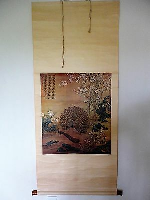 RARE! 20th Cent.Chinese Scroll Print Painting (Famous Painting in Palace Museum)