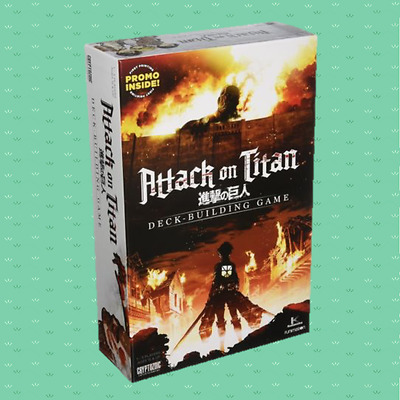 Attack on Titan - Deck Building Game - NEW - SEALED
