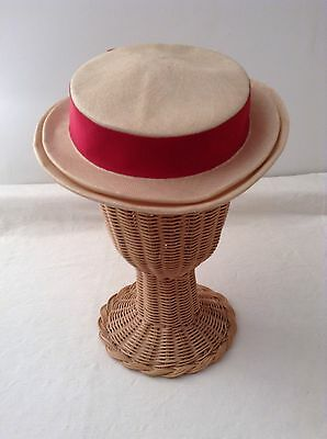 Authentic Vintage Summer Hat 1940s Or 1950s Retro