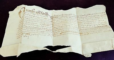Document or deed dated 1575