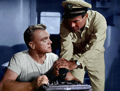 James Cagney and Henry Fonda UNSIGNED photo - H7422 - Mister Roberts