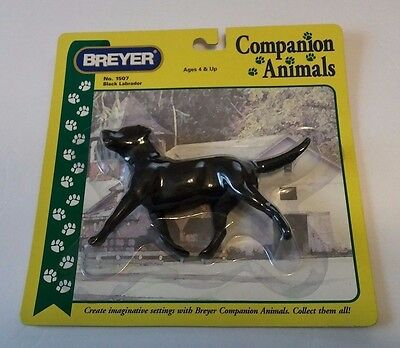 Breyer Companion Animals BLACK LABRADOR DOG No.1507 Unopened on Card
