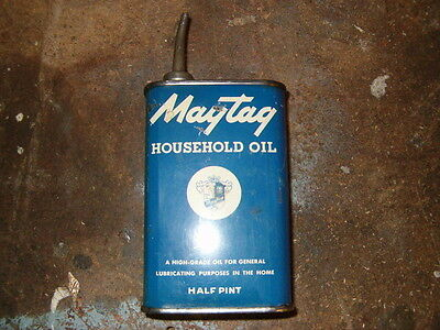Maytag Gas Engine Motor Household Oil Can Wringer Washer OP16.1