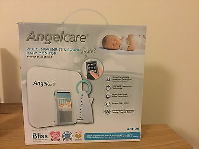 New Angelcare Video, Movement And Sound Baby Monitor