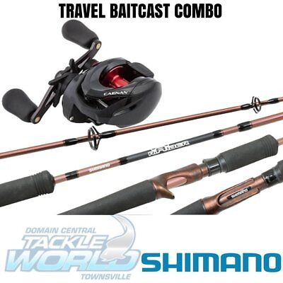 Shimano Rod and Reel Combo – Caenan 150HG with Raider Travel 593 Barra BRAND N