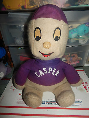 Vintage Rosette Doll Co Casper The Friendly Ghost Plush  ULTRA RARE