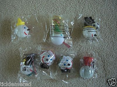 Jack in the Box Antenna Toppers Lot of Seven New in Pkg