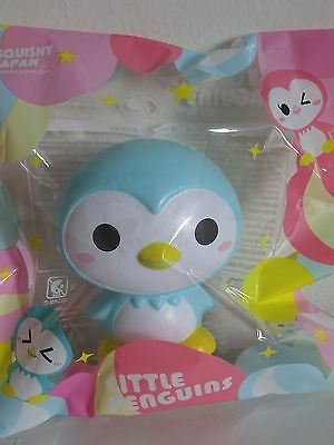 iBloom Little Penguins SORA Blue Penguin Squishy Scented NEW IN PACKAGE