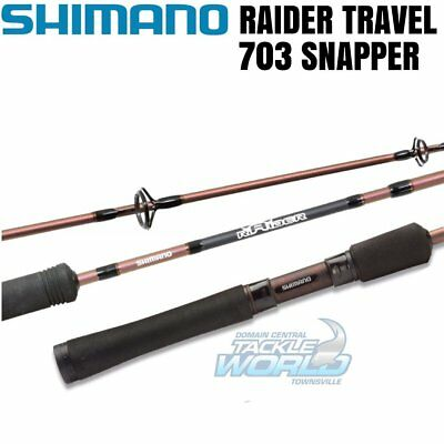 Shimano Raider Travel 703 Snapper Spin BRAND NEW
