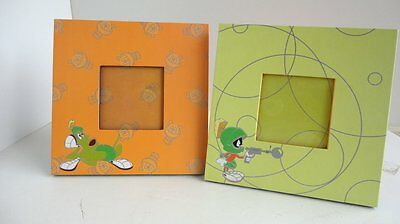 1998 Warner Brothers MARVIN THE MARTIAN & K-9 Picture Frames  Unused