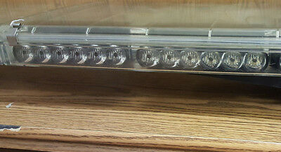 Lot of Two Code 3 LEDX Excalibur 2100 X Light Bar Optix R LED Modules Lightbar