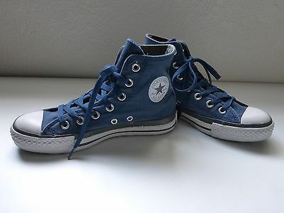 Converse Chuck Taylor All Star Blue Canvas Sneakers Womens 6M Mens 4M