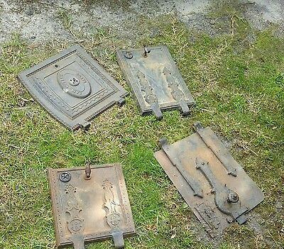 Old antique oven doors, cast iron,  vintage,  decorative, $110ea/$110 per door