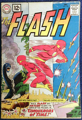 The Flash #125 - Kid Flash! Conquerors of Time!