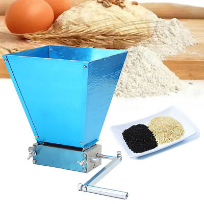 Homebrew Grain Processor Grain Crusher Stainless Rollers Malt Mill Grain Mill