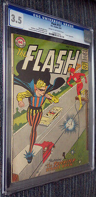 The Flash #121 CGC 3.5 CR/OW Pages - Trickster! Infantino! Anderson! Giella!