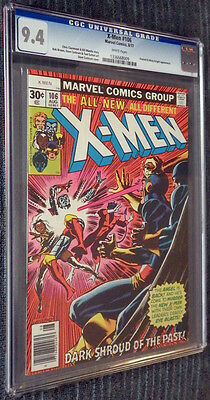 X-Men #106 CGC 9.4 White Pages - Firelord! Misty Knight!