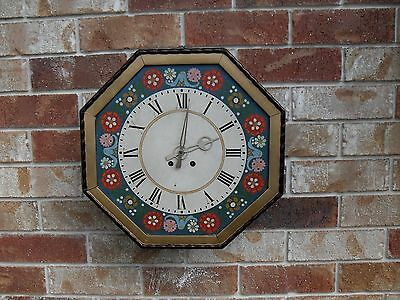 """""""Lenzkirch"""" circa 1890's Black Forest Germany wall clock."""