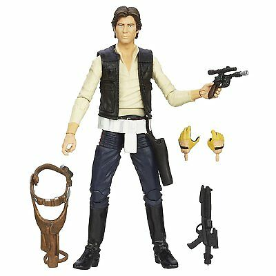 "Hasbro 2014 Black Series 6"" Han Solo (#08) A New Hope Complete"