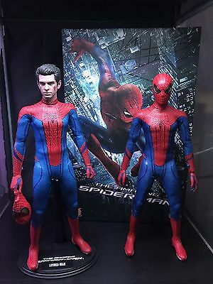 1/6 Scale Hot Toys Amazing Spider-Man Figure X2