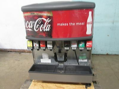 """""""LANCER 4500"""" COMMERCIAL HD (nsf) LIGHTED 8 HEADS SODA w/ICE DISPENSER MACHINE"""