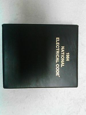 1984 National Electrical Code Book Binder Vintage Rare
