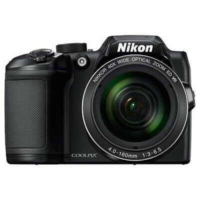 Nikon Coolpix B500 Digital Camera - Black with GEN NIKON WARR
