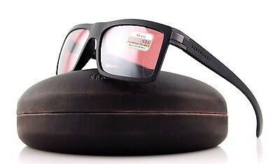 048aa2bc30b POLARIZED NEW Authentic SERENGETI BRERA Sanded Black Sedona Sunglasses 8213