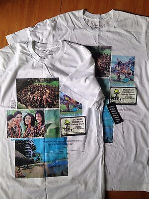 Roark Revival T-Shirt Bali High White Short Sleeve Men's Small Tee
