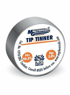 MG Chemicals SAC305, Tip Tinner, Lead Free No Clean Contact Cleaner Pen with PPE