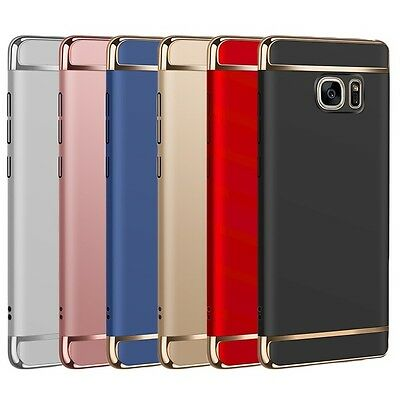 Luxury Electroplating 3 in 1 Case Cover For Samsung Galaxy J5 Prime | J7 Prime