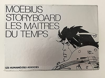 Moebius storyboards for French animated movie Les Maitres du Temps