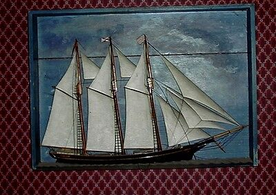 Antique Vintage Model Ship