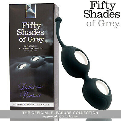 Palline vaginali in silicone Delicious Pleasure Fifty Shades of Grey Geisha Ball