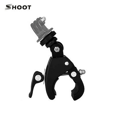 Bike Handlebar Clamp Roll Cage Mount Seatpost for GoPro 6 5S 5 4S 4 3+ 3 SJ9000
