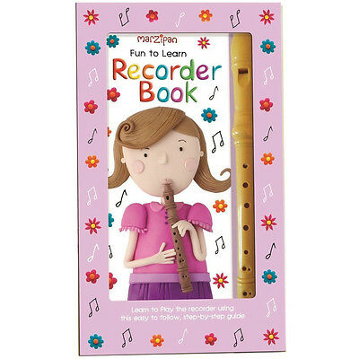 Children's Marzipan Fun to Learn Recorder Book in a Box - Complete with Recorder