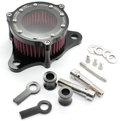 Motorcycle Air Cleaner Intake Filter for Harley Sportster 2004-2015 XL 883 1200