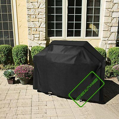 2/4/6 Burner Waterproof Heavy Duty Barbecue Bbq Grill Cover Rain Dust Protector