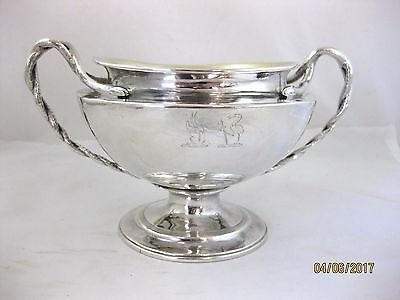 Antique Solid Silver  SMALL COMPORT or SUGAR BOWL  Hallmarked LONDON 1801