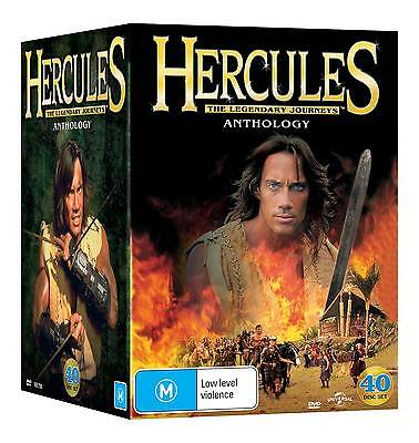 Hercules The Anthology Complete Seasons 1 + 2 + 3 + 4 + 5 + 6 (DVD 40-Disc Set)