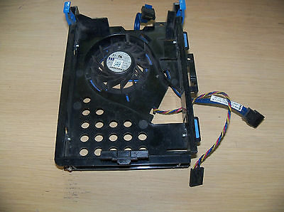 Dell Optiplex 755 780 3.5 inch Hard Drive Caddie - NH645 with Fan & SATA Cable