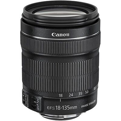 Canon EF-S 18-135mm f/3.5-5.6 IS STM Lens (Bulk Package) (No Box)