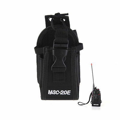 MSC-20E Walkie Talkie Radio Case Nylon Holder Bag Two Way Radios Cover Pouch Hot