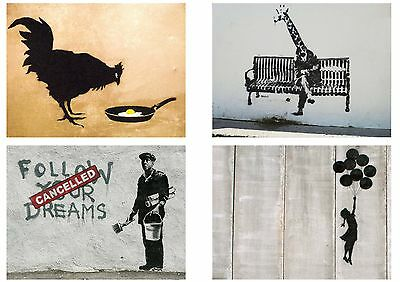 Banksy Graffiti Street Art Pack 10 Posters Collection / Set 10 Prints Hp4140
