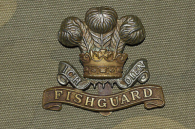 History!!! The British Army WWI: The Pembroke (Pembrokeshire) Yeomanry Cap Badge
