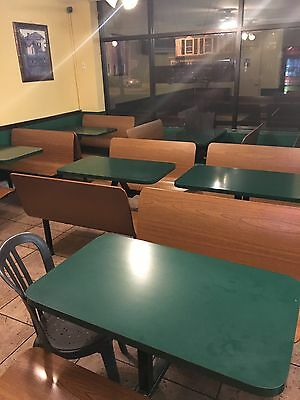 pizza deli booths 7 four seats one 2 seats