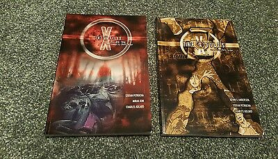 x-files graphic novel collection volume 1 and 2 very rare titan books